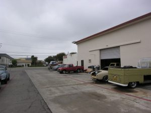 Commercial Storage with Antique Cars